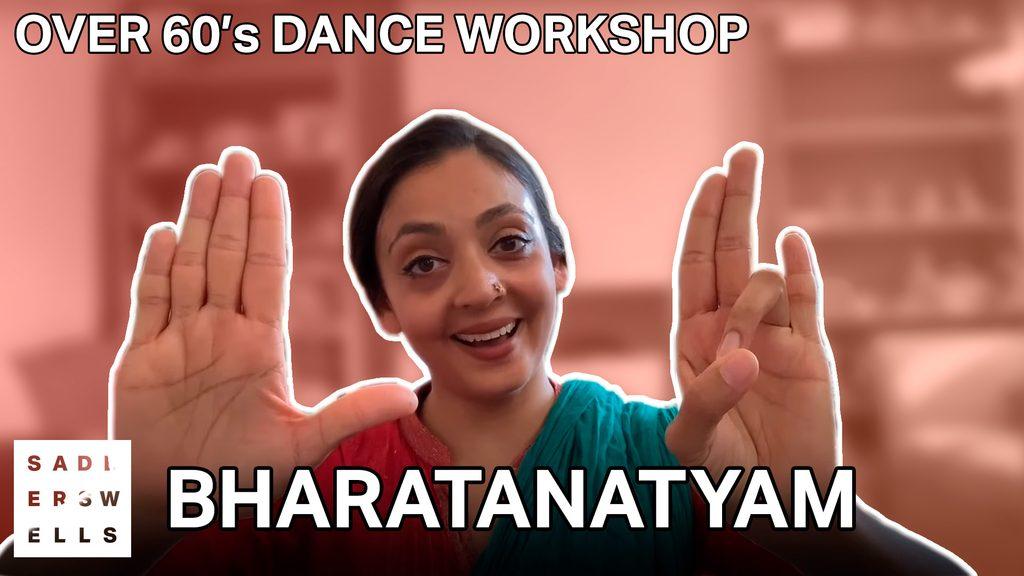 Seeta Patel teaching Bharatanatyam